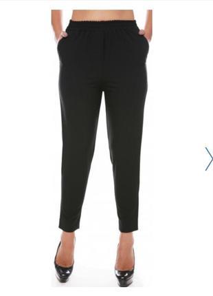 Брюки штаны свободные заужены к низу из 100% льна льняные