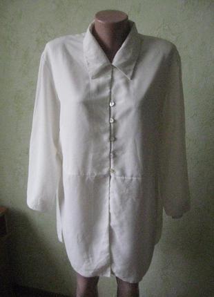 Блузка удлиненная