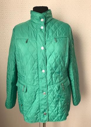 Классная яркая тонкая куртка от gerry weber, размер 48, укр 54-56-58