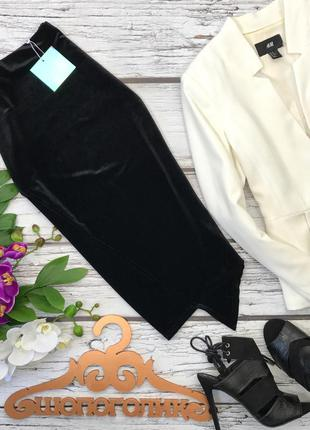 Нарядная юбка миди ассиметричного покроя    ki2418     missguided