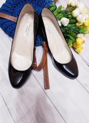 Туфли лаковые кожа