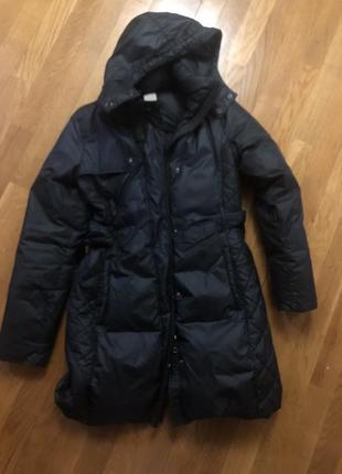 Куртка пальто пуховик nike зимняя