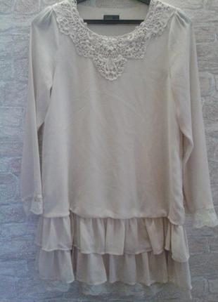 Романтичное платье vero moda