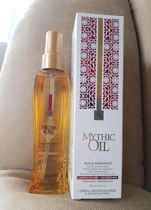 Масло для волос l'oreal mythic oil