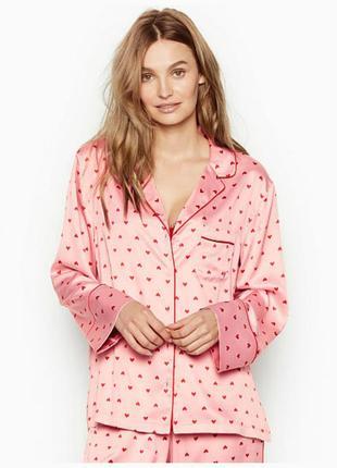 Рубашка домашняя victorias secret женская пижамная рубашка для дома оригинал