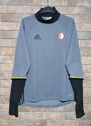 Adidas оригинал спортивная кофта для тренировок игры в футбол размер m