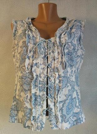 Котоновий корсет блуза рубашка