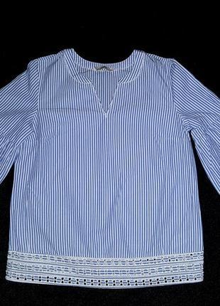Блуза блузка коттон 100%