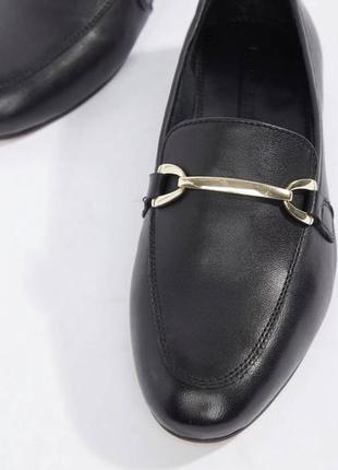 Новые мужские брендовые туфли лоферы из натуральной кожи