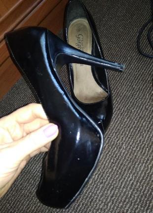 Туфли на каблуке -38 р 24,5