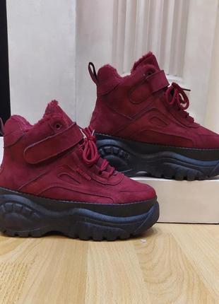 Стильные зимние ботинки.  размери 40, 41.
