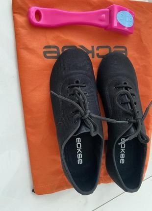 Туфли тренировочные для бально- спортивных танцев