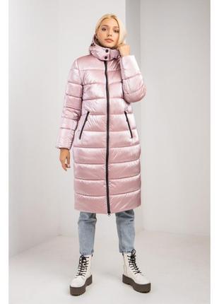 Модное теплое молодежное, женское пальто пуховик размеры 44- 56