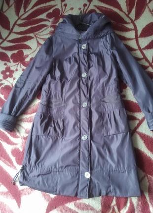 Пальто плащ демисезонное