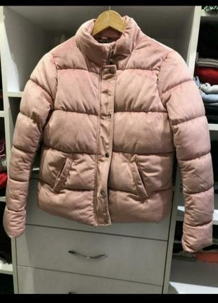 Бархатный велюровый пуфер