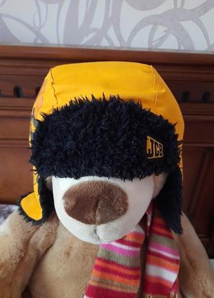 Отличная шапка для мальчика на 1-3года.