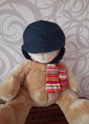 Тёпленькая шапочка на мальчика. размер указан 52-53.