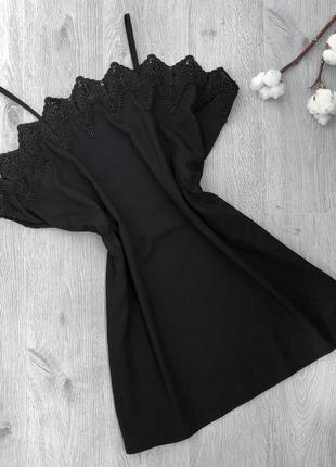 Накидка платье с кружевом