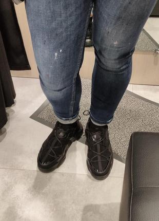 Новые кожаные кроссовки р 41 стелька 27 см