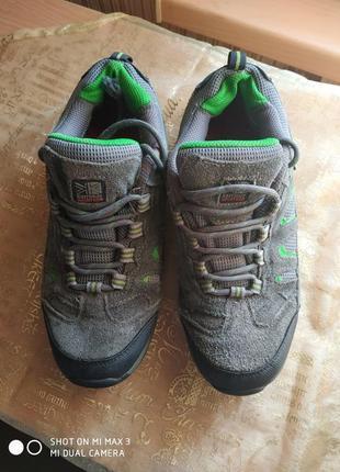 Трекинговые замшевые кроссы,ботинки..р.37