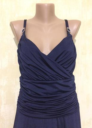 Обалденное синее платье ,сарафан!!!
