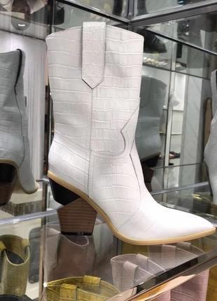 Сапоги ботинки казаки fendi