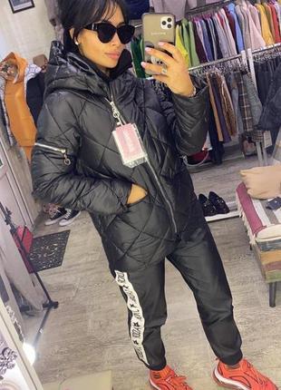 Эффектна стеганная  курточка