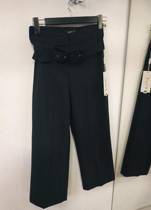 Брюки штани кюлоти з поясом турція короткі брюки