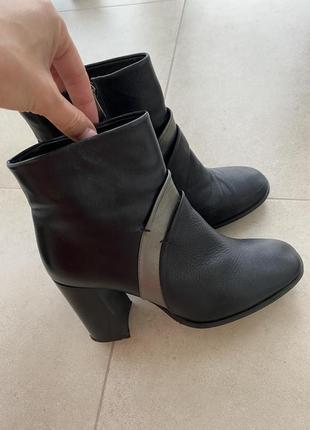 Женские ботинки braska кожа