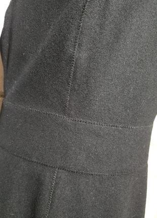 Шерстяное платье-футляр сарафан офис деловой стиль8 фото