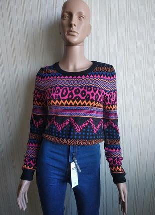 Укороченный свитер h&m размер xs