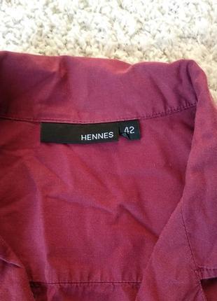 Темно красная рубашка