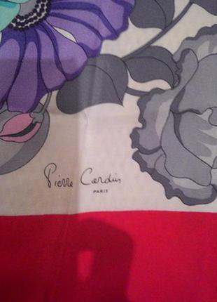 Продам шелковый платок pierre cardin,оригинал,100% шелк