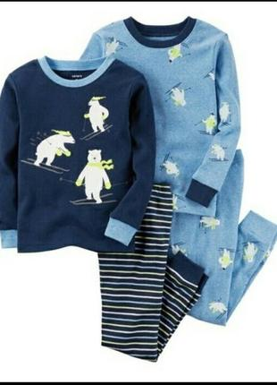 Пижама картерс котон 3т