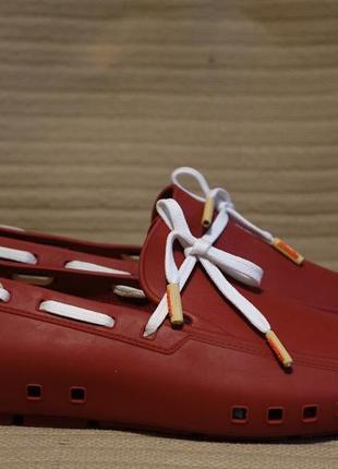 Оригинальные фирменные мокасины в стиле crocs - mocks португалия 43 р.