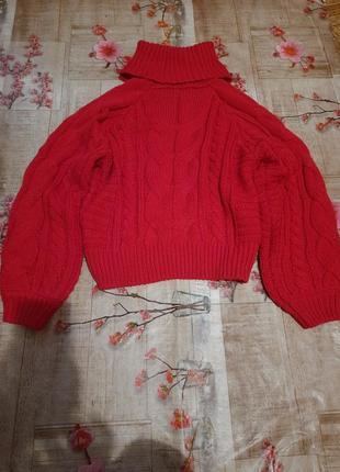 Шикарный объёмный свитер