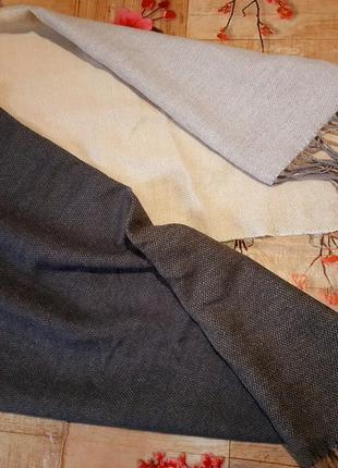 Шикарный шарф палантин 4 цвета