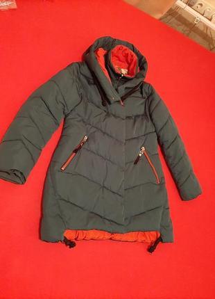 Курточка цвет изумрудный