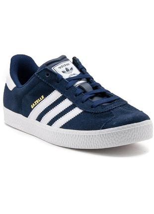Кроссовки adidas gazelle 2 women's kids sneakers blue b24620 trainers