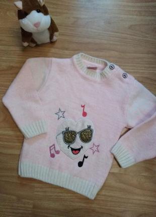 Качественный теплый свитер