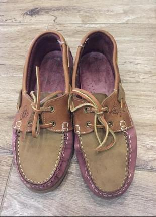 Туфли топсайдер мокасины туфельки лоферы женские