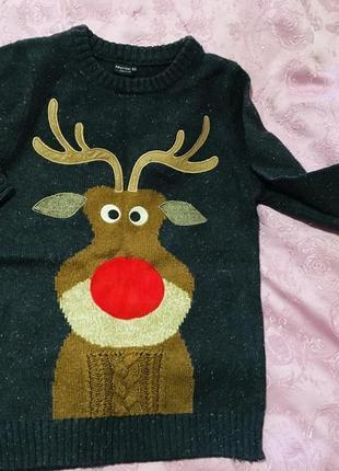 George свитер новогодний на 4 года