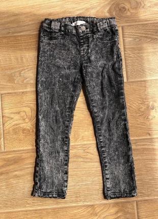 Штани-джинси h&m 3-4 рочки