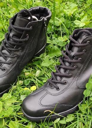Кожаные ботинки medicus