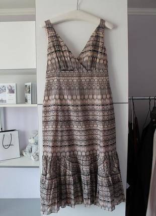 Очень качественное натуральное платье от дорогого бренда  ted baker