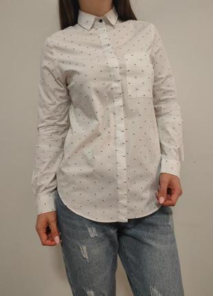 Красивенная белая рубашка