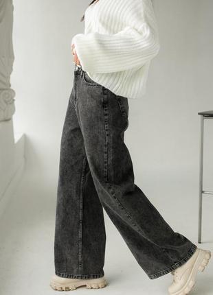 Модные джинсы клеш