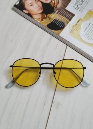 Желтые очки, тишейды с желтыми линзами