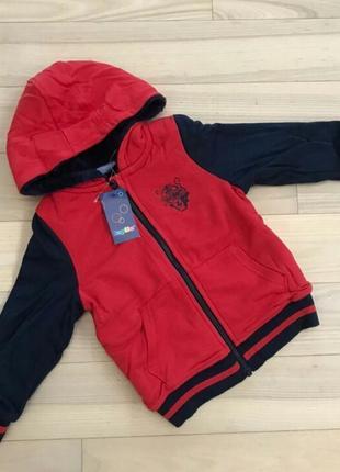 Мастерка-куртка 98-104 рост lupilu 3-4 года