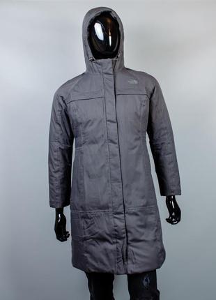 Фирменное пуховое пальто the north fave hyvent.очень теплая зимняя парка.пуховик